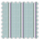 Poplin, Green and Purple Stripes