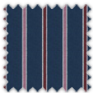 Poplin, Blue, Pink and Red Stripes