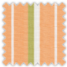 Linen, Green and Orange Stripes
