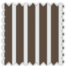 Twill, Black and Brown Stripes