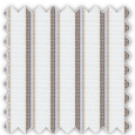 Pinpoint, Blue, Brown and Khaki Stripes