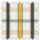 Poplin, Blue, Yellow and Gray Checks