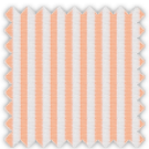 Wrinkle Resistant Dobby, Orange Stripes