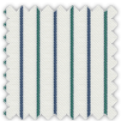 Twill, Blue and Green Stripes