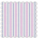 Oxford, Blue, Pink and Purple Stripes