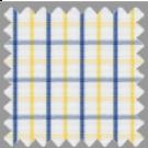 Poplin, Blue and Yellow Checks