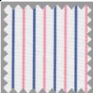 Poplin, Blue and Pink Stripes