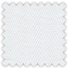 Herringbone, Solid White